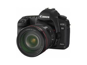 New Canon 5D Mark II, $2,700, 21.1 Megapixels, Full Frame Sensor, Anti Dust Technology, Shoots HD Video
