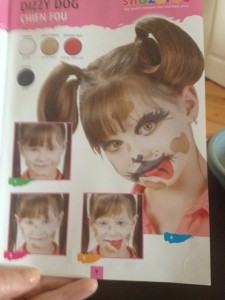 Dog from Face Painting Guide