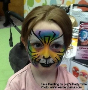 Babytalk face painting