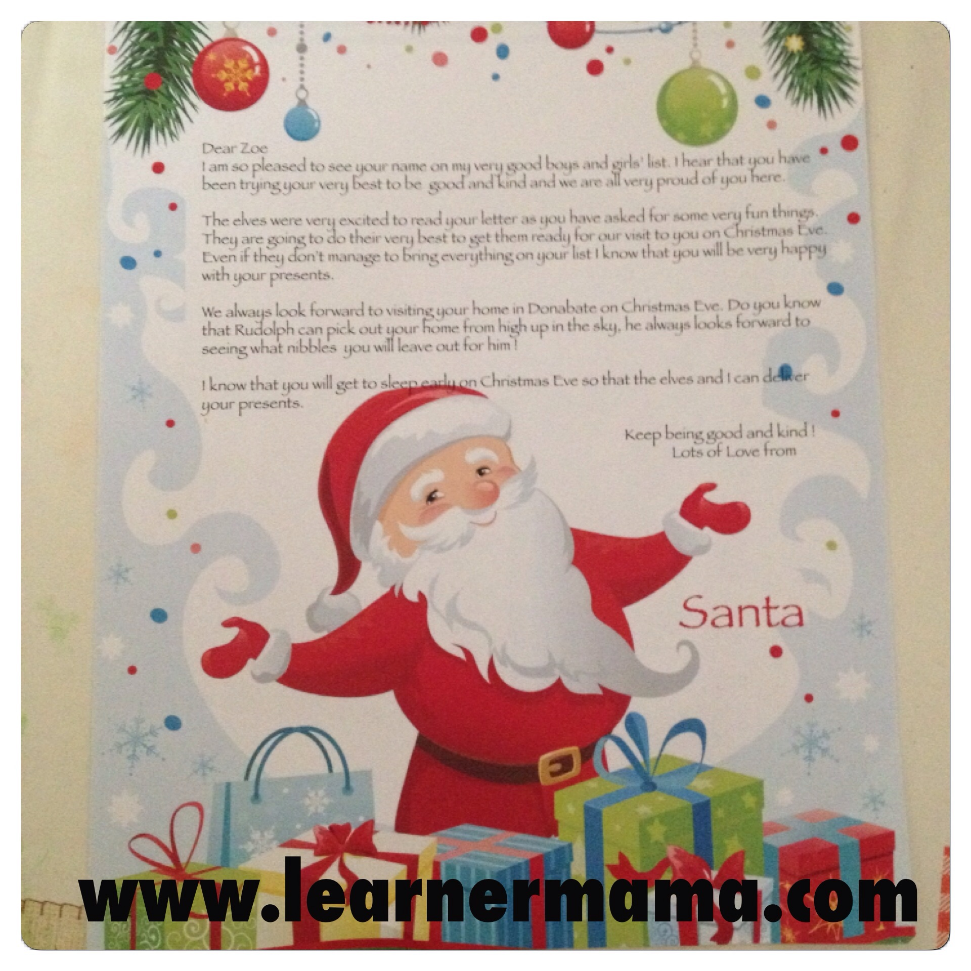 i sat down with my little girl to read her very own christmas adventure story the story features the chosen child finbar the elf and of course the big man - Christmas Card Closings