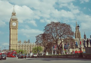 London city Big ben