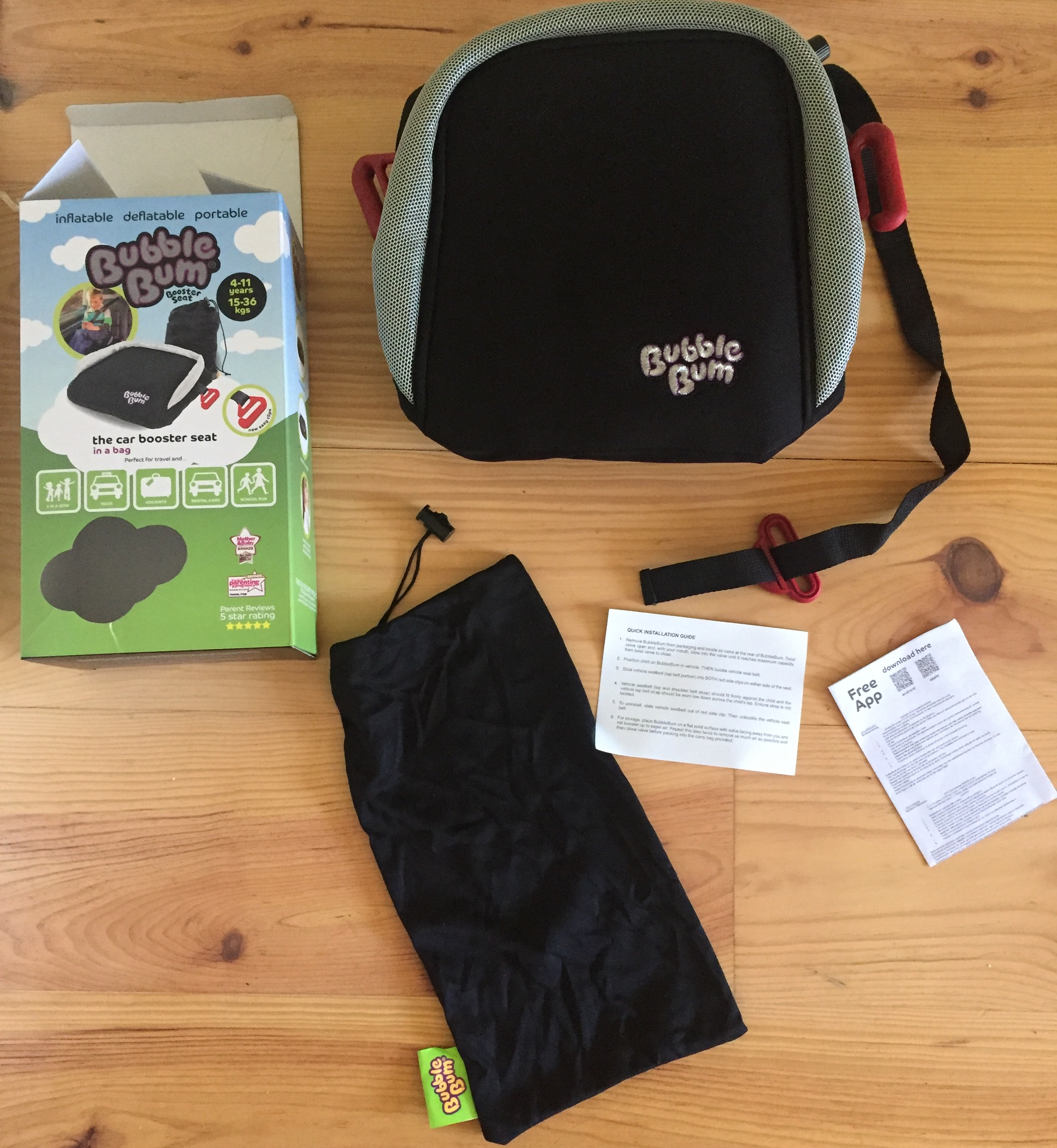 9e9bc459e Bubble Bum Inflatable Booster Seat [Review and Giveaway] | Learner ...