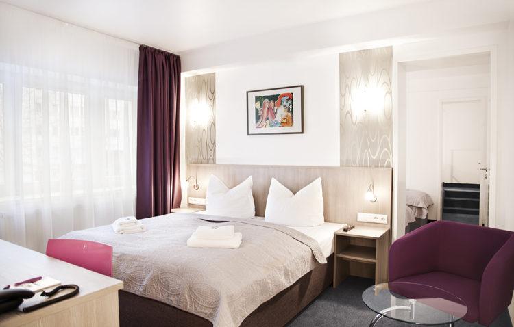 Bedroom Residence Hotel Nikolai